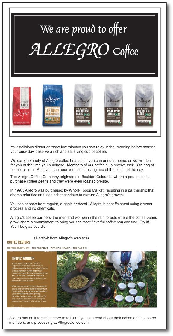 Allegro Coffee 2